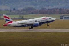 Britsh Airways - G-DBCA - Airbus A319