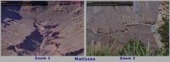 Tableau Dibond Matisseo Zoom sur 2 zones