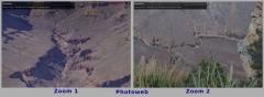 Tableau Dibond Photoweb Zoom sur 2 zones