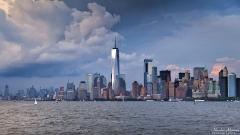 New York sous l'orage