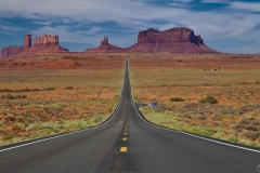 Monument Valley - Forrest Gump Point